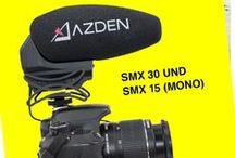 """AZDEN / AZDEN - Hochwertige Mikrofone und Mixer für DSLR-Filmer Der japanische Spezialist """"AZDEN"""" entwickelt und fertigt seit 55 Jahren eine breite Palette von Audio-Produkten, einschließlich hochwertiger Mikrofone und Audio-Mixer. Diese wurden für alle Arten von Anwendungen und Ansprüchen konzipiert, bei denen es um erstklassigen Sound beim digitalen Filmen geht – von der Kreation eines Hobbyfilms bis hin zum professionellen Broadcasting."""