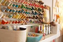 Organization - Sewing Room