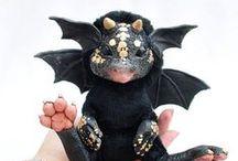 Créatures, Petits Démons & Monstres / Poupées - Figurines & Miniatures au 1/12ème  * Dolls Monsters and Creatures *