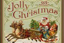 Print : Tout pour Noel / Gabarits de boites, Cartes, Décors, Etiquettes, Ornements, Tissus, Papiers - Matériels & Accessoires  miniatures pour maisons de poupées au 1/12ème au 1/12ème et à réduire