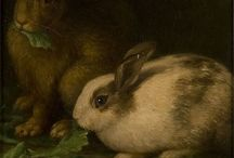 Conejitos in Art / Bunny artist love... / by Ann McBee