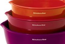 KitchenAid® 101 / From ice cream to noodles, satisfy your taste for power, function, style and a gourmet creation with these fabulous KitchenAid recipes + tips!  / by Herberger's