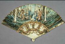 Fans 18th Century / Fans - hand fans - historical fans - vintage fans