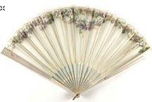 Fans 19th Century / Fans - hand fans - historical fans, vintage fans