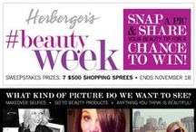 #BeautyWeek / Beauty at any age! We know how important it is for you to be up to date on the latest and greatest beauty products.  Here are a few of our faves we think you'll love! / by Herberger's