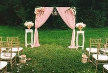 Outdoor Wedding Inspiration / Ideas to inspire your garden ceremony at Sarnia Park.