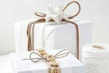 Pacchetti idee / Tanti modi per impacchettare un regalo