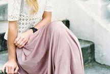 Long skirt inspiration