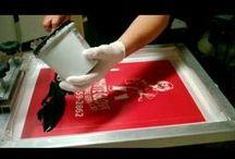 screen printing/sítotisk