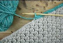 instruction-Knitting and crochet/pletení a háčkování