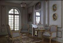 Salons / Intérieurs - meubles et accessoires miniatures pour maisons de poupées au 1/12ème