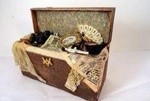 Malles - Coffres & Valises / Miniatures au 1/12ème - Maisons de poupées Miniatures