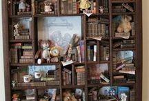 Scènes de vie - Vitrines & Vignettes /  Miniatures au 1/12ème - Maisons de poupées
