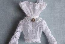 Vêtements & Habits - Lingeries / Miniatures au 1:12ème - Maison de poupées