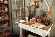 Ateliers d'Artisans & Ateliers de Bricolage / Intérieurs - Matériels & Accessoires  miniatures pour maisons de poupées au 1/12ème