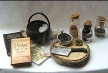 Potions - Filtres & Préparations / Miniature au 1/12ème - Maisons de poupées * Potions  & Grounds - Dollhouses *