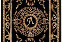 Print : Tapis & Tapisseries  ensorcelés / Coussins & Carpettes - Miniatures au 1/12ème - Maisons de poupées * Rugs and Tapestries bewitched Cushions & Rugs - Miniatures 1 / 12th - Dollhouses *