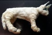 Tutos : Momies - Fantômes & Squelettes / Tutoriels pour Miniatures au 1/12ème - Maisons de poupées