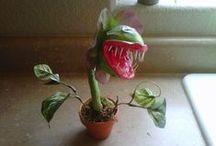 Tutos : Plantes - Arbres ensorcelés & Champignons / Miniatures au 1/12ème - Maisons de poupées