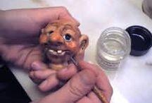Tutos : Fées Elfes & Lutins / Tutoriels miniatures (1/12th) pour créer et modeler vos fées, lutins, elfes, gnomes & korrigans