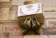 Chaussures - Sacs - Paniers et Malles pour Fées / Miniatures au 1/12ème - Maisons de poupées