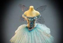 Les Fées & la Mode / Vêtements et habits miniatures 1/12th pour fées, lutins, elfes, gnomes & korrigans