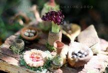 Cuisines & ustenciles pour Fées / Matériels et accessoires de cuisine pour Fées, Elfes et Lutins Miniatures au 1/12ème - Maisons de poupées