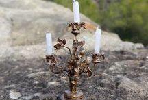 Luminaires & Eclairages pour Fées / Miniatures au 1/12ème pour fées, lutins, elfes, gnomes & korrigans