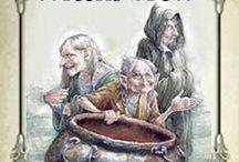 Print : Affiches - Publicités pour Sorcières / Imprimables à redimensionner pour Miniatures au 1/12ème et Maisons de poupées