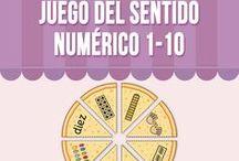 Juegos Sentido Numérico / Diferentes Puzzles and Clip Cards para aprender y practicar el sentido numérico del 0 al 5.