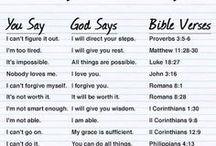 Biblical/Character things