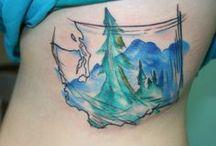 Tattoos - watercolour