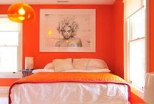 Orange / Orange is the new black, right? Check out how orange can really make a room extra juicy. Fear not this bold hue!  / by Chairish