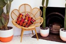 Global Bazaar / Express your love for all cultures and a show a desire to travel the world with an eclectic mix of furnishings and decor. No need to leave home, shop the look with Chairish!