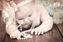 Baby Photography - Paper Crane Studios / I love my sessions with little babies! Always so much fun & full of joy :)