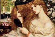 Pre-Raphaelites / Artistic inspirations