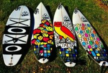 SURF & SUP Board Art / Art for surf and StandUp PaddleBoards / by Mike Doyle