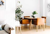 1 : INTERIOR / I love the mix of modern scandinavian -  and mid century interior, therefore I have collected a couple of my favorite pieces and pictures that represent that style.