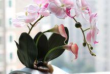 Modern Flowers Look