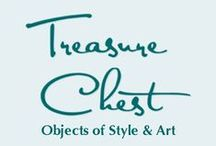 Treasure Chest / OBJECTS OF STYLE AND ART... Whether you're going to a beach wedding, the opera, or taking a stroll down Main Street, TREASURE CHEST has the perfect outfit. We carry Women's Fashions, from casual to formal and the Accessories to complete your look... fashionable and one-of-a-kind Jewelry... and Home Decor for the most unique gifts.  And in the Chafin Fine Art Gallery, you'll find original art created by local artists.  www.treasurechestgifts.com