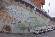 Blu, street art / L'arte per il mondo di Blu, genio della street art di Senigallia