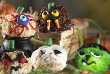Halloween Treats / Embrace the halloween spirit with these terrifying treats and sprine-tingling snacks.