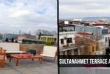SULTANAHMET TERRACE APARTMENTS - ISTANBUL / Sultanahmet Terrace Apartments is located in main avenue of Sultanahmet (in Divanyolu Avenue), nearby to all best touristic attractions. Only a few minutes walking distance to all Blue Mosque, Ayasophia, Hagiasophia, Grand Bazaar, Basillica Cistern. Tram stop is also just 50 meters away from our building and all avenue is surrounded with good quality restaurants & cafes & shops. There are 2 apartments in this building.