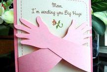 kortteja / joulu-, äiti-, isä- ym kortteja