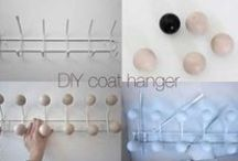DIY / Creative ideas what can we do using hangers. Get inspired of some examples.