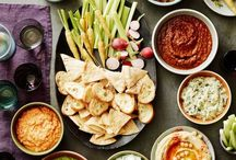 Party snacks.