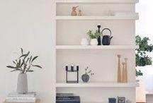 2 : INTERIOR STYLING / styling shelves inspo