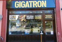 Gigatron prodavnice / Prostorije Gigatron prodajnih mesta u Srbiji.