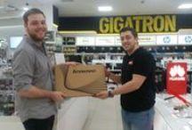 Gigatronci / Naše kolege Gigatronci u akciji zajedno sa vernim Gigatroncima koje volimo da nagrađujemo.