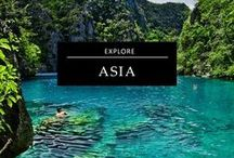 Two Weeks in Asia / Are you planning a Two-Week Adventure in #Asia, then you should look through this board for inspiration, #itineraries and #travel tips all related to the Asian continent. Everything you need to know, from the best places to visit in Asia, what to eat in Asia, which cities to visit in Asia and the outdoor adventures that should be on your Asian #bucketlist is pinned on this board. Where will you go next - China, Thailand, Vietnam, Korea, Singapore?